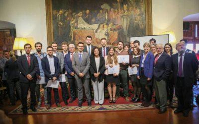La UGR entrega los premios del VI Concurso de Emprendimiento Universitario 2016