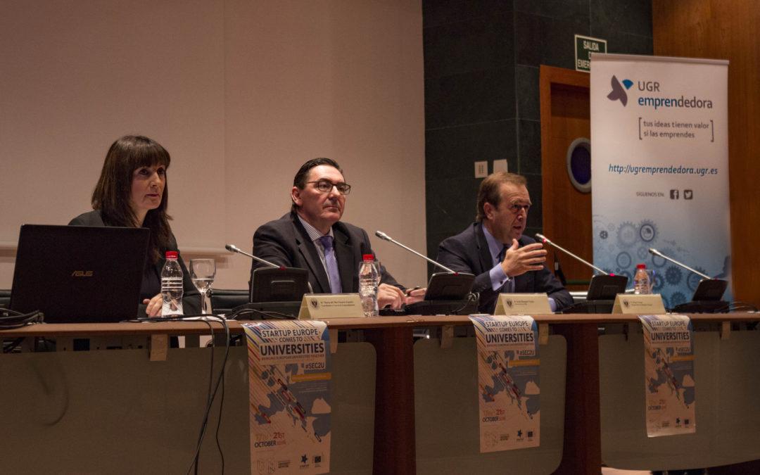 36 universidades de 15 países participan en el evento SEC2U sobre innovación y emprendimiento en la UGR