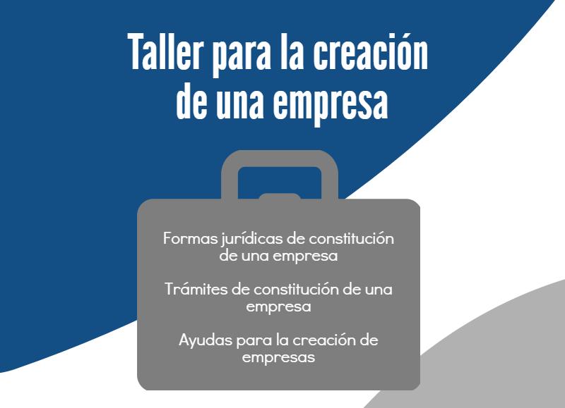 La UGR abre la inscripción al 'Taller para la Creación de una Empresa'