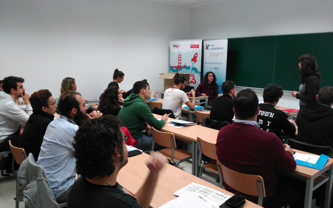"""Da comienzo en UGR Emprendedora el programa 'Santander Yuzz: Jóvenes con ideas"""""""