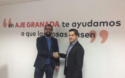 Aje Granada firma un convenio de colaboración con iwOS