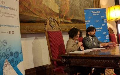 La Universidad de Granada y Banco Sabadell juntos en un convenio por el emprendimiento