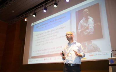 Ofir Leitner cierra el turno de ponencias de la primera mañana de Alhambra Venture 2017