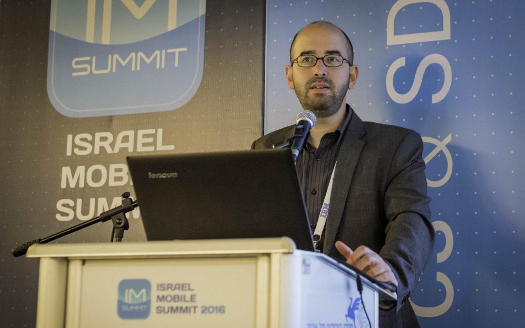 Ofir Leitner, fundador de Israel Mobile Summit, estará presente en Alhambra Venture 2017