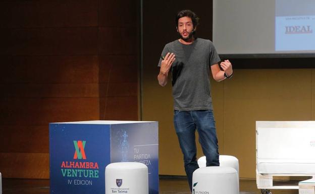 El fundador de CartoDB visita Alhambra Venture 2017
