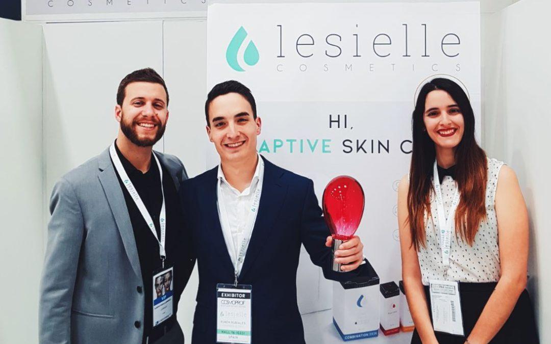 La startup andaluza Lesielle gana en los Premios Internacionales de Belleza Cosmoprof
