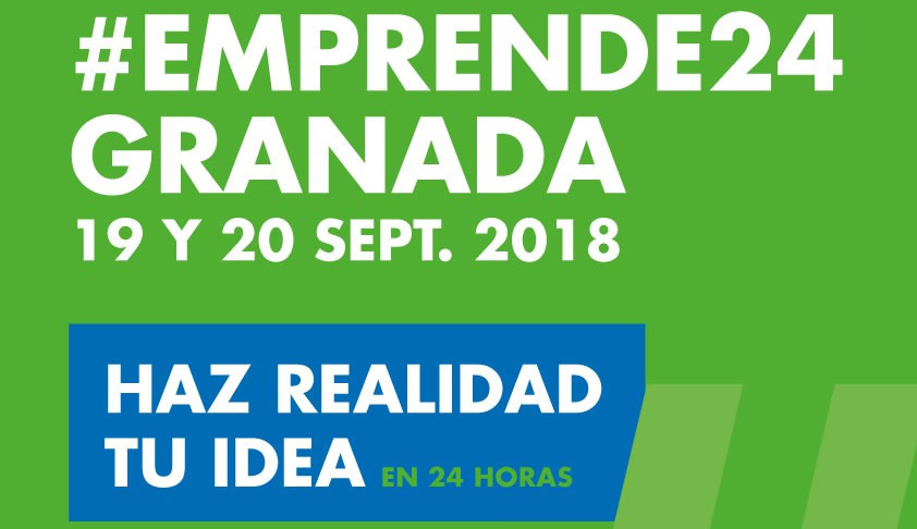 #Emprende24 el evento gratuito que se celebra 19 y 20 de septiembre en Granada