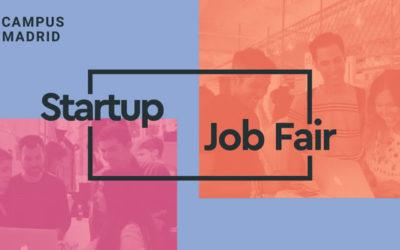 37 empresas buscan trabajadores en la Startup Job Fair 2018