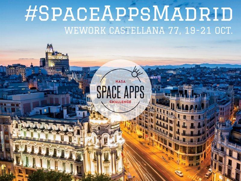 El NASA #SpaceApps Challenge 2018 se celebrará en Madrid