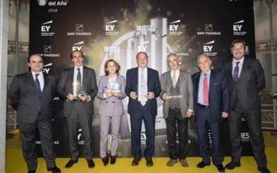 El Premio a Emprendedor del Año de EY ya tiene sus tres finalistas