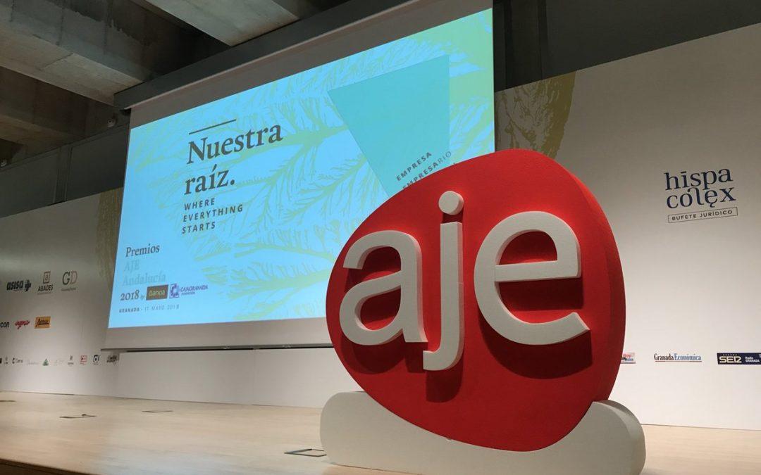 La Asociación de Jóvenes Empresarios de Andalucía abre el plazo de candidaturas a los Premios AJE 2019