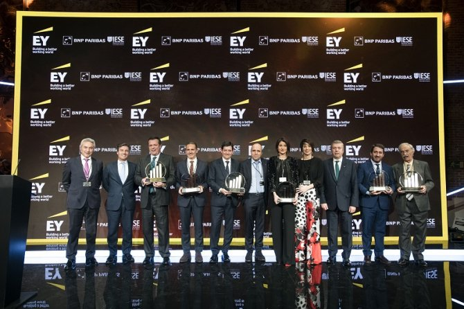 Estos han sido los galardonados en los Premios Emprendedor del Año 2018