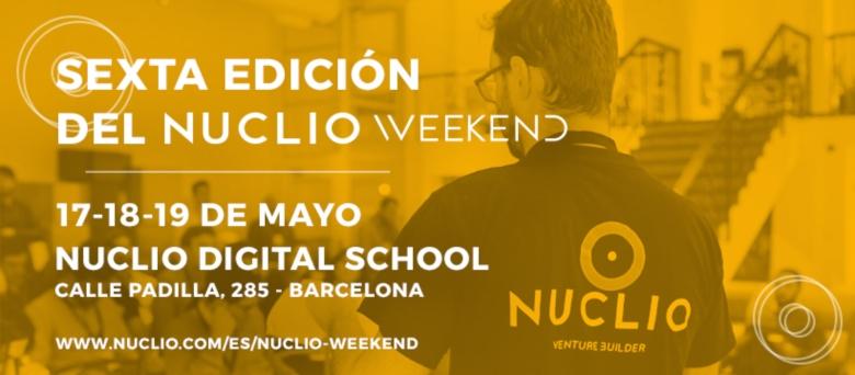 Nuclio Venture Builder abre el periodo de inscripción de la VI Edición del Nuclio Weekend