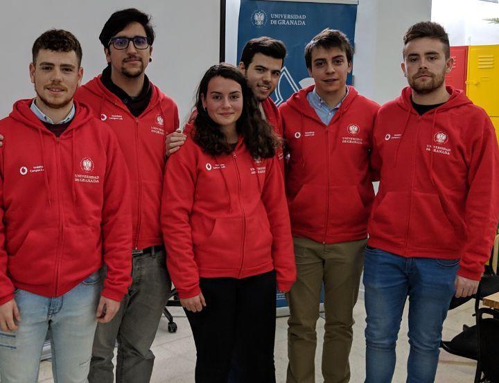 El equipo de la UGR ya es finalista en el Vodafone Campus Lab