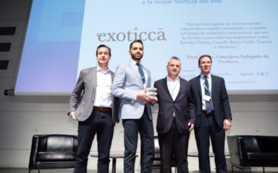 Exoticca, la mejor startup del año en los premios ESADE Alumni StartUp Day