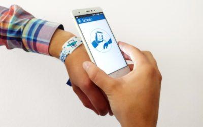 El sistema de Bracelit ha sido utilizado por más de 30 empresas y 60.000 personas