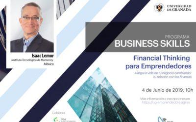 La UGR acogerá el taller Financial Thinking para Emprendedores