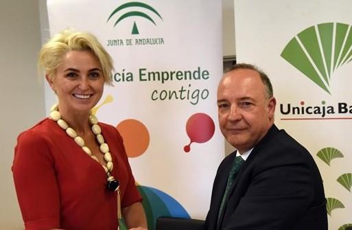 Estos son los nuevos productos y servicios para emprendedores que ofrece Andalucía Emprende y Unicaja