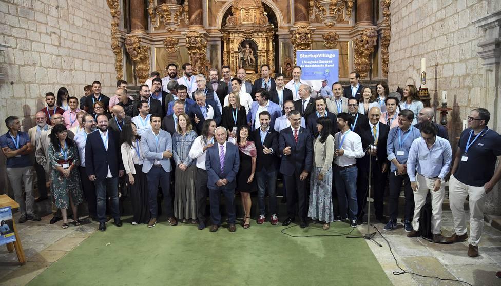Más de 400 personas se reúnen en el I Congreso Europeo de Repoblación Rural de Villahoz