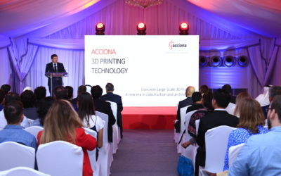 La empresa española Acciona inaugura en Dubai un Centro Global de Impresión 3D