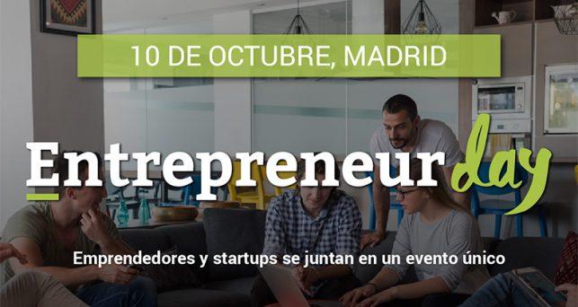 Entrepreneur Day llega a Madrid el próximo día 10 de octubre