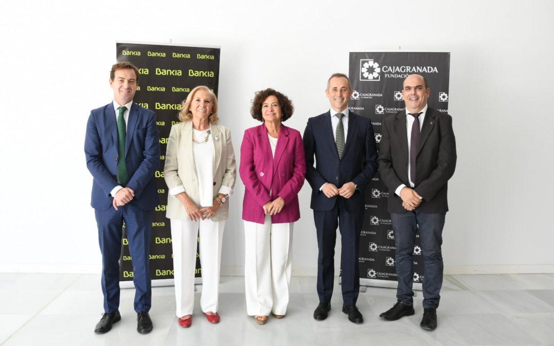 CajaGranada Fundación y Bankia colaborarán con la UGR en el fomento del emprendimiento universitario