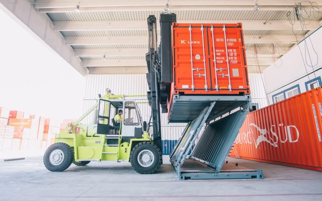 Navlandis, startup ganadora de Alhambra Venture 2019, consigue certificación para usar su contenedor Zbox en transporte marítimo
