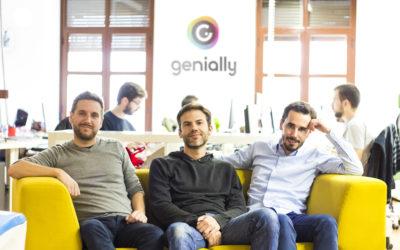 Genial.ly, startup de Alhambra Venture, levanta 4,4 millones de euros en una ronda de inversión