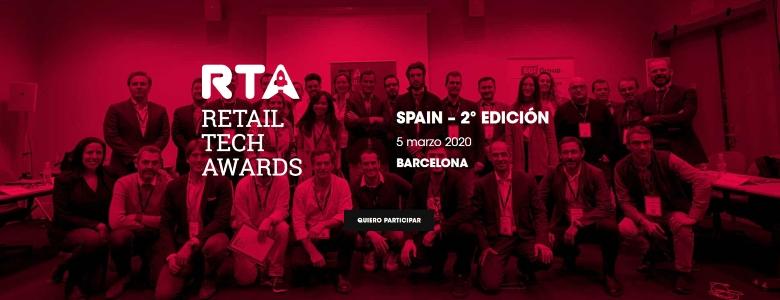 Abierta la convocatoria para la competición de startups Retail Tech Awards