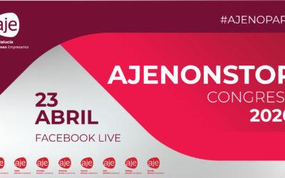El primer congreso online de la Asociación de Jóvenes Empresarios #ajenonstop lanza un mensaje de unidad y apoyo para afrontar la actual situación de crisis