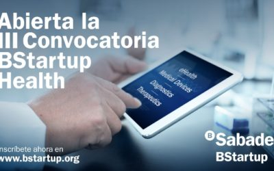 BStartup Health: BStartup de Banco Sabadell abre su tercera convocatoria