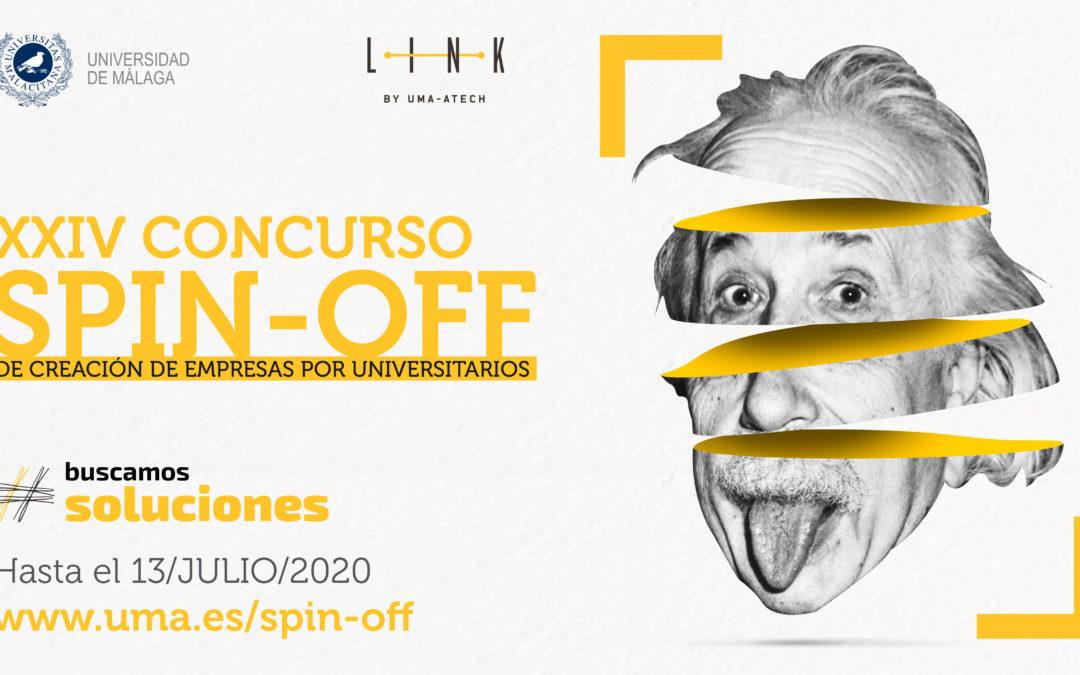 La Universidad de Málaga convoca el Concurso Spin-Off 2020 para iniciativas emprendedoras de base universitaria