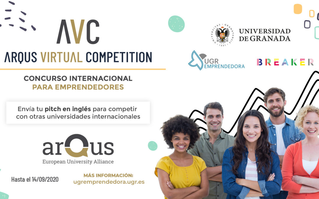 La UGR participará en ARQUS Virtual Company Creation Challenge Finals