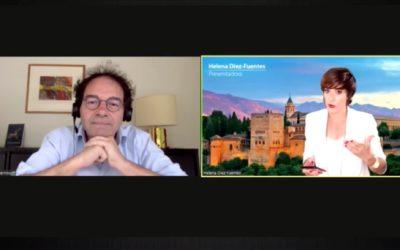 El economista Rudy Aernoudt, actual responsable del proyecto 'Scale-up' en la Comisión Europea, intervino en Alhambra Venture para hablar sobre la financiación en Europa