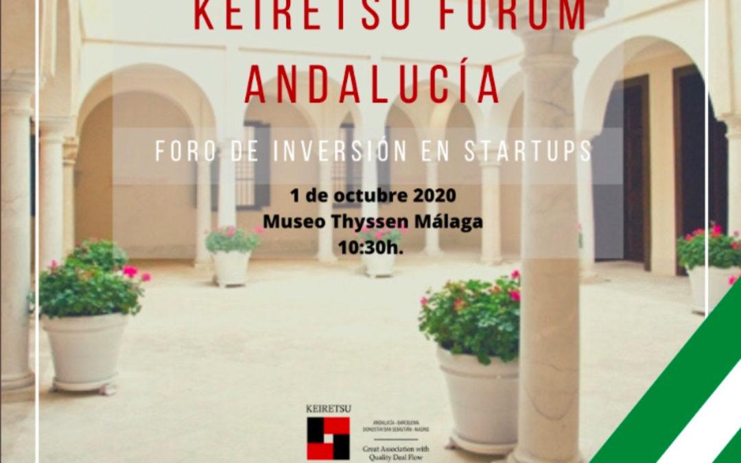 Keireitsu Forum 2020 busca 10 startups andaluzas en su primera edición