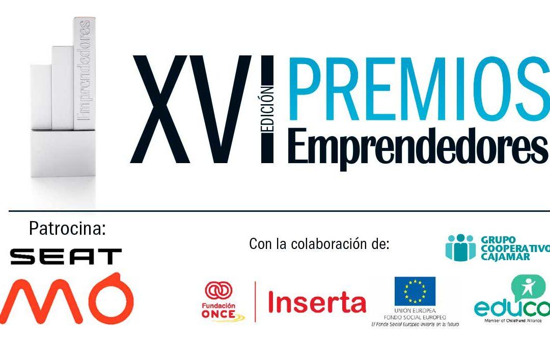 Participa o vota en los XVI Premios Emprendedores hasta el 9 de octubre