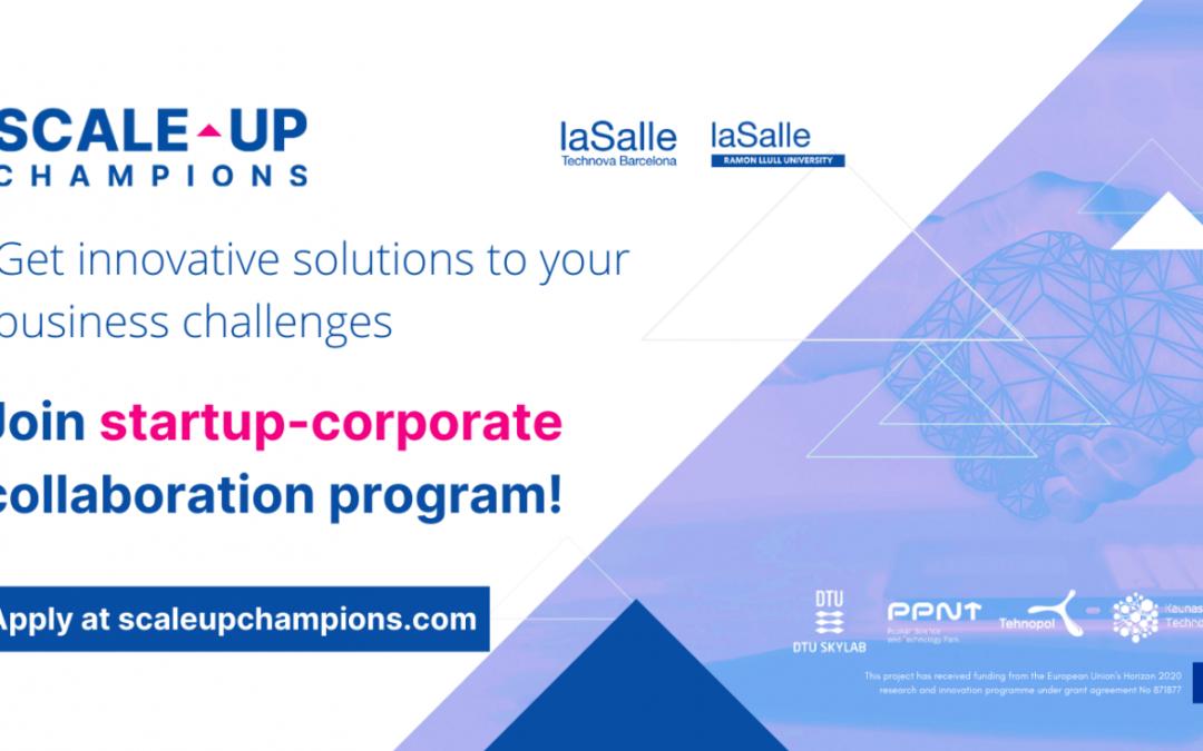 Participa en la liga de las startups más innovadoras de Europa