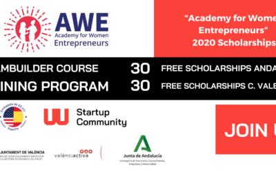 """Academia de Mujeres Emprendedoras (AWE) lanza 60 becas para participar """"Academy for Women Entrepreneurs"""""""