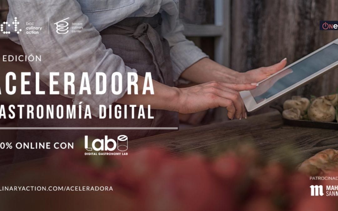 Basque Culinary Center busca startups que trabajen en el ámbito de la digitalización y la tecnología gastronómica