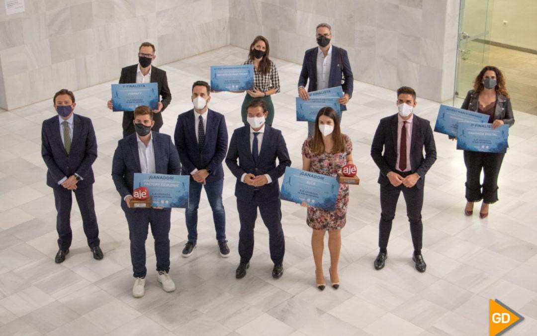 Factory Ecologic y ELCA ganan los Premios AJE Granada 2020