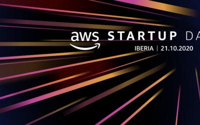 AWS Startup Day se celebra el próximo 21 de octubre: ¡inscríbete, plazas limitadas!