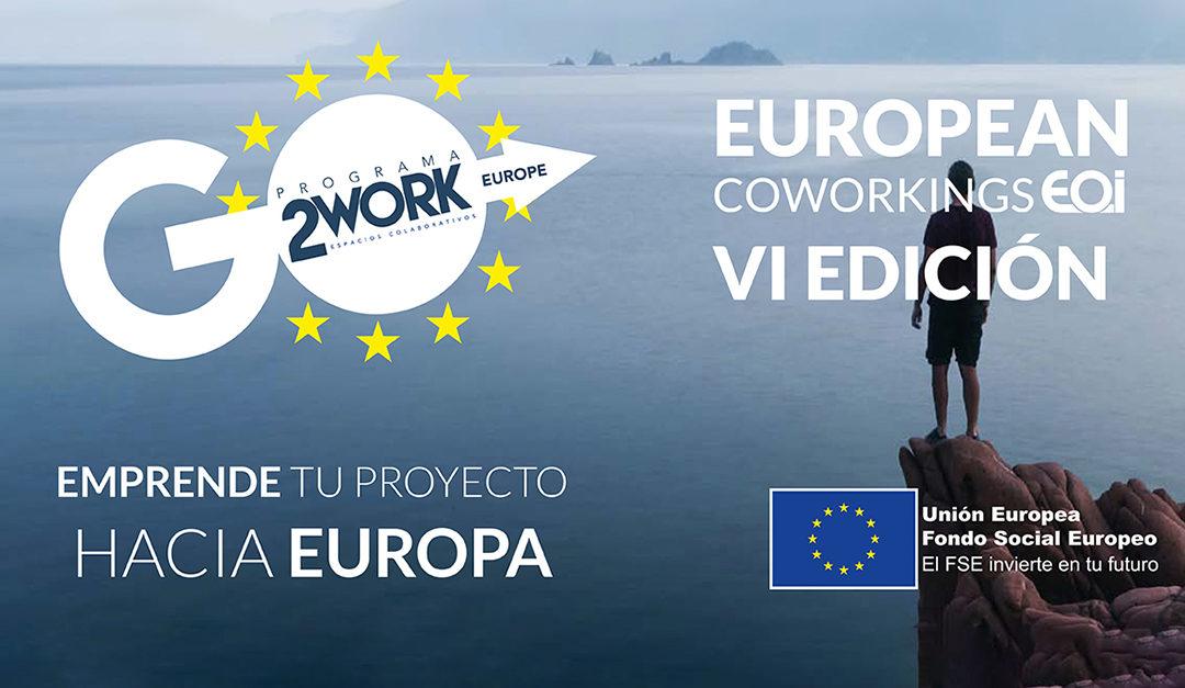 European Coworkings, de EOI, abre la convocatoria de su sexta edición hasta el próximo 4 de diciembre