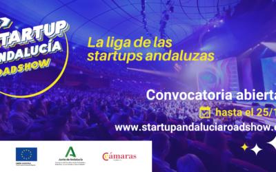 Presenta ya tu candidatura para participar en el Programa 'Startup Andalucía Roadshow'