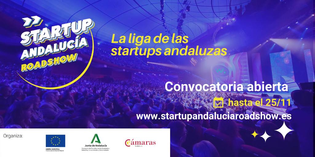 Apúntate ya a la presentación de ANDALUCIA ROAD SHOW para startups de Alhambra Venture