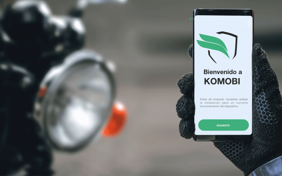 KOMOBI, el dispositivo inteligente antirrobo con localizador GPS para motos made in Andalucía