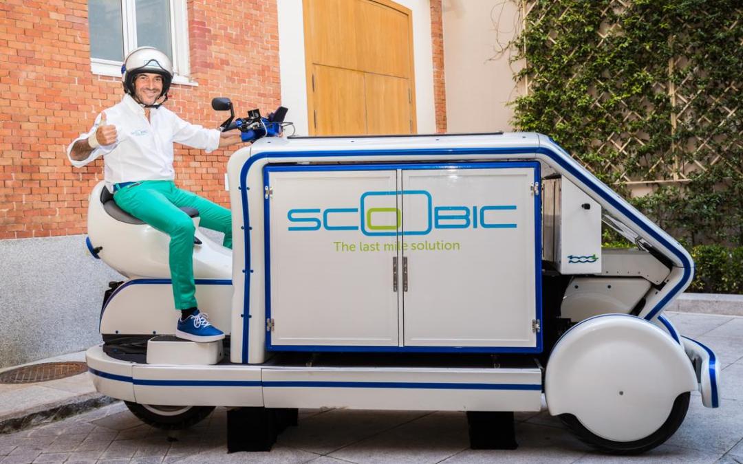 El proyecto Scoobic de Passion Motorbike Factory, startup de Alhambra Venture 2018, cierra una ronda de dos millones de euros