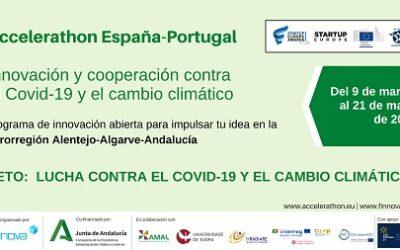 La Junta de Andalucía inaugura el Startup Europe Accelerathon Eurorregión Alentejo-Algarve-Andalucía