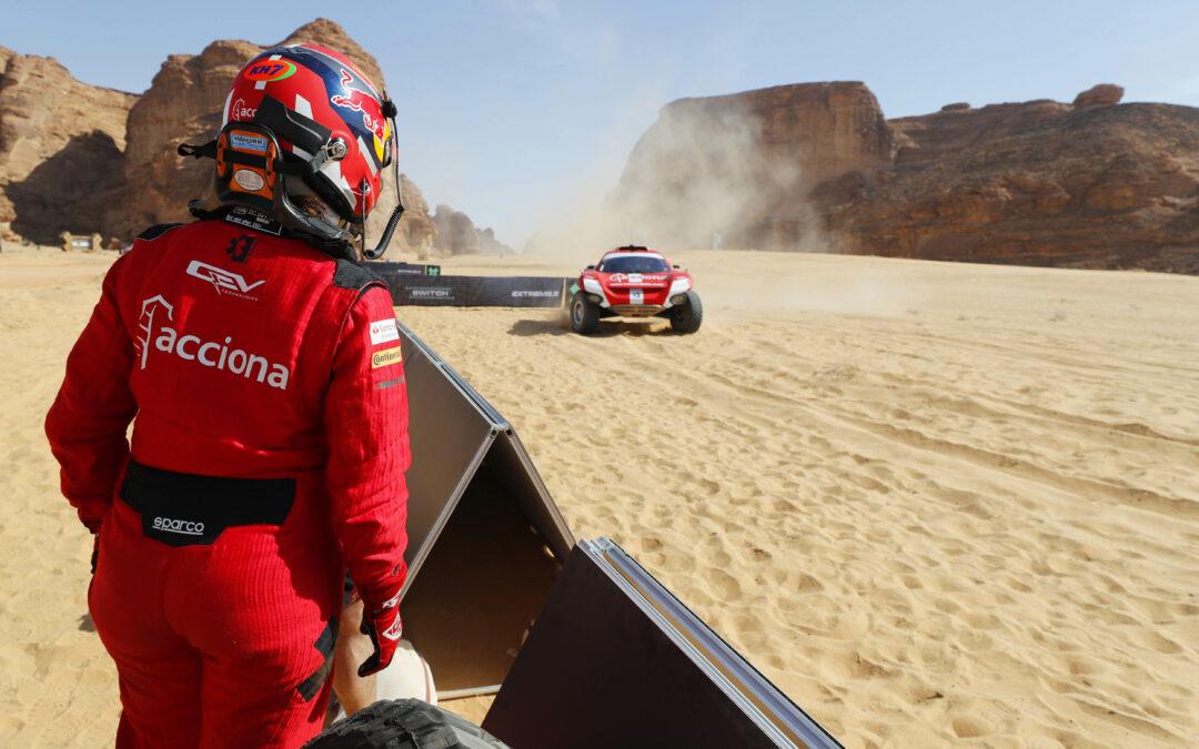 Sainz XE Team termina la primera prueba de Extreme E con un tercer puesto en la semifinal 1