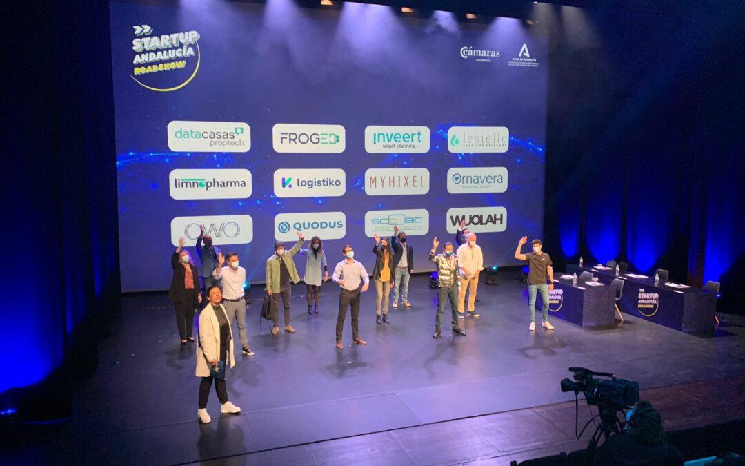 Estas son las 5 ganadoras de Startup Andalucía Roadshow