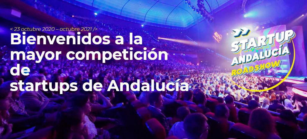 Únete a la gran final de Startup Andalucía RoadShow y descubre cuáles serán las 5  startups ganadoras